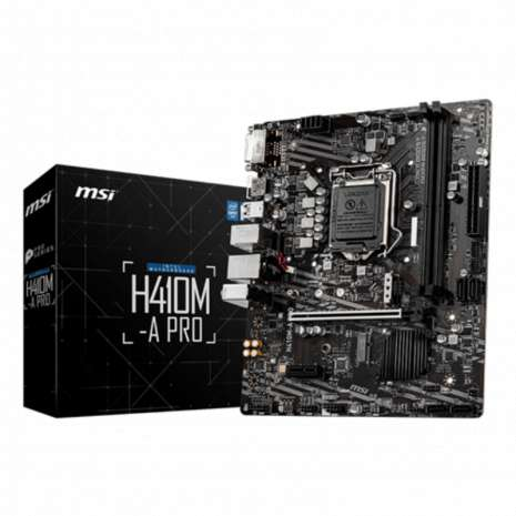 Matična ploča MSI H410M-A PRO HDMI/DVI/M.2