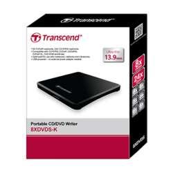 USB DVD+-R/RW Transcend TS8XDVDS-K Slim Black