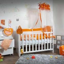 "Deksi posteljina ""Tri drugara"" - narandžasta"