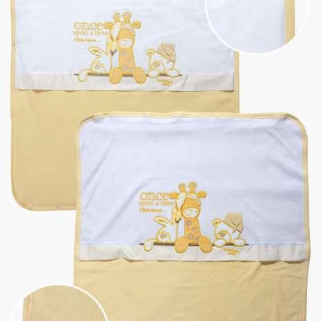 Deksi pamučni prekrivač - žuto