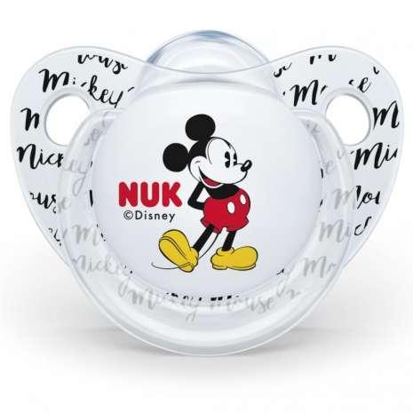 Nuk varalica silikon u kutiji Mickey 0-6m