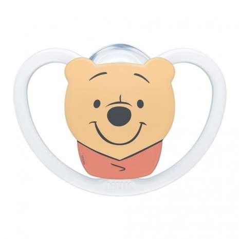 Nuk varalica silikon u kutiji Space Winnie the Pooh 0-6m