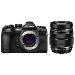Olympus OM-D E-M1 Mark II Mirrorless Micro Four Thirds Camera with 12-40mm f/2.8 Lens Kit (Black)