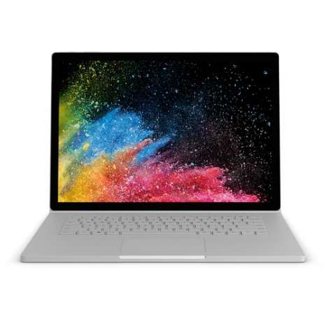 """Microsoft 15"""" Surface Book 2 Multi-Touch 2-in-1 Laptop (Silver)"""