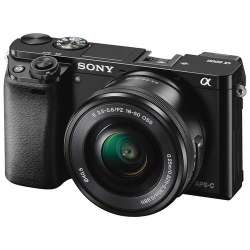 Sony Alpha a6000 Mirrorless Digital Camera with 16-50mm Lens and Accessory Kit (Black)