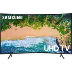 """Samsung NU7300 65"""" Class HDR UHD Smart Curved LED TV"""
