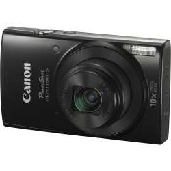 Canon PowerShot ELPH 190 IS Digital Camera with Free Accessory Kit (Black)