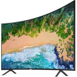 """Samsung NU7300 55"""" Class HDR UHD Multi-System Smart Curved LED TV"""