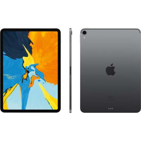 """Apple 11"""" iPad Pro (Late 2018, 512GB, Wi-Fi Only, Space Gray)"""