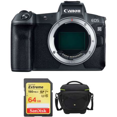 Canon EOS R Mirrorless Digital Camera Body with Accessories Kit