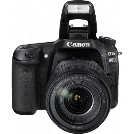 Canon EOS 80D DSLR Camera with 18-135mm Lens Video Creator Kit