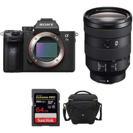 Sony Alpha a7 III Mirrorless Digital Camera with 24-105mm Lens Professional Kit