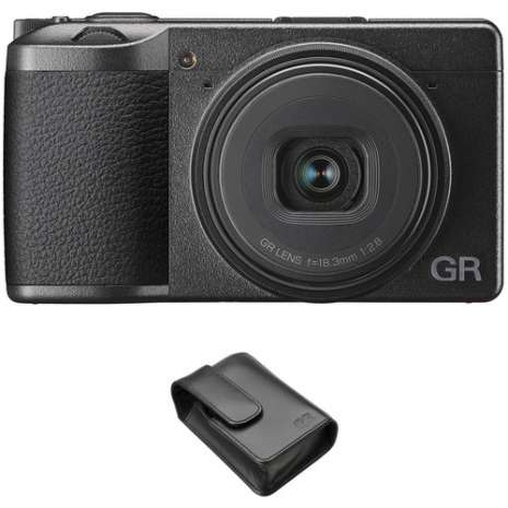 Ricoh GR III Digital Camera with GC-9 Soft Case Kit